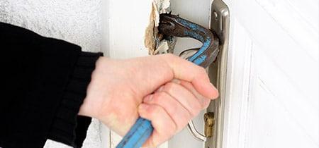 Inbraakbeveiliging kunststof deuren